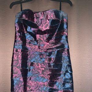 Mini- snake print Dress